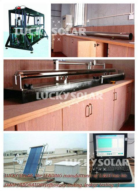 LUCKY- solar water heater laboratory