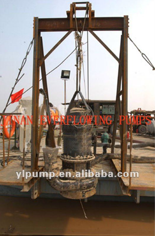 vertical centrifugal submersible pump for river pond