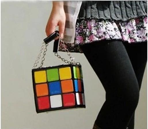 Creative style Magic cube lady handbag / lady sexy handbags / handbag for women