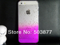 Чехол для для мобильных телефонов for iphone 5s case 5 3D Water Drop Dripping clear crystal total 9 colors in stock