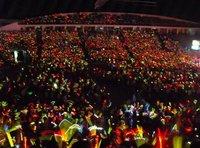 960pcs! Хэллоуин концерт день рождения партии детей взрослые игрушки светящиеся светодиодные фонари палец, кольцо Лазерные фонари