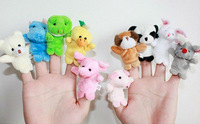 Кукла Plush Animal Finger Puppet, baby toy finger puppet family, Velvet Animal Style Finger Puppets 80554