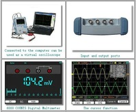 Осциллограф Hantek DSO8060 Five-in-one Handheld Oscilloscope