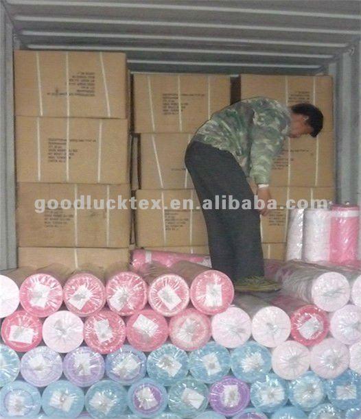 poliester textil para ropa de cama barata