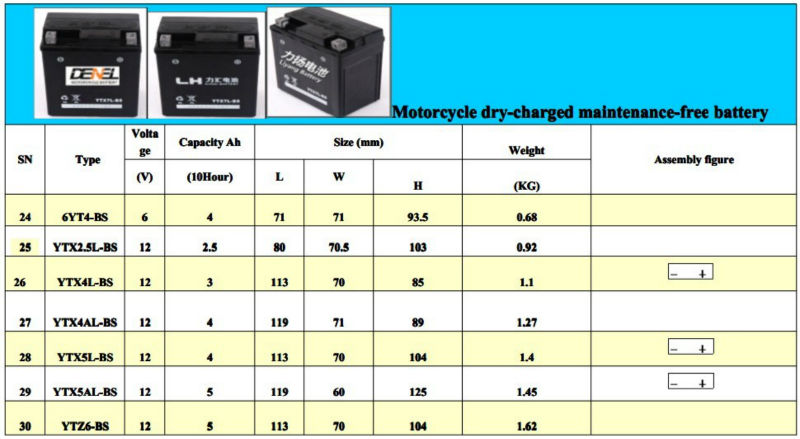 DEY CHARGED BATTERY FOR 250cc off road motorcycle | 250cc dirt bike motorcycle | nueva 250cc motocicleta de China|enduro