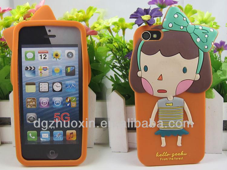 Coni silicon mobile cover for telephone 5 5G romane phone case