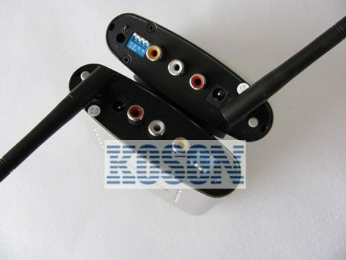 ,2.4G AV Sender &IR Remote Extender Wireless Transmitter-06