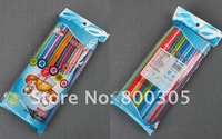 Соломинка для питья Art straw, magic straw, flexible drinking straw 100pcs /bag. 40bags/box