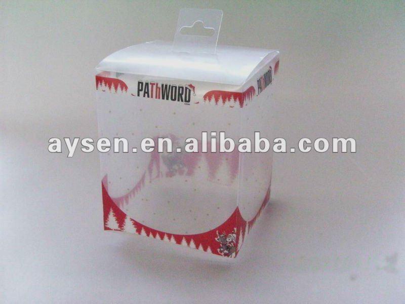 Caja de embalaje de pvc rígido
