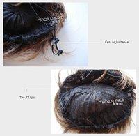 одна часть toupe мода леди волосы булочка вся цена