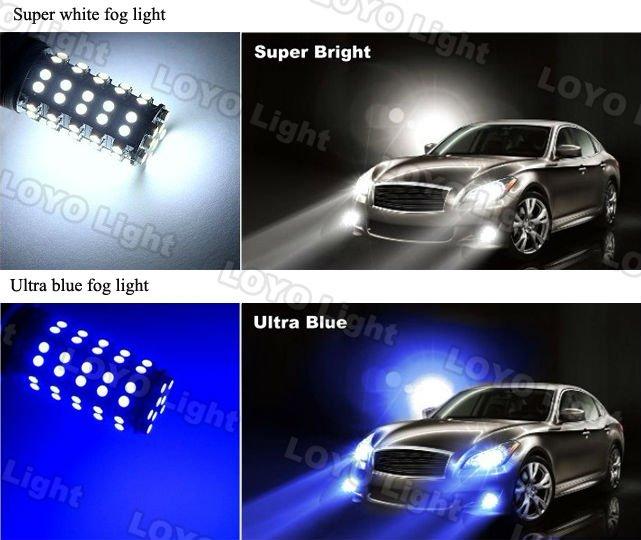 5050 chip H8,H11,H16 car led fog light,led automotive bulb