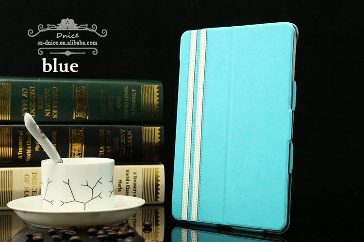 Retro 360 rotating flip case for apple Ipad mini 2, colorful choice PU leather mini tablet