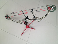 "brand new 45-55lbs 27""-30\"" chinese compound bow in camouflage color"