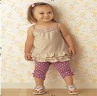 Комплект одежды для девочек Baby girl top dress Children suit, girl 's suit
