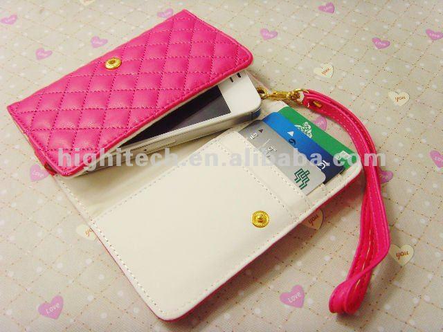 Carcasa para celular y cartera