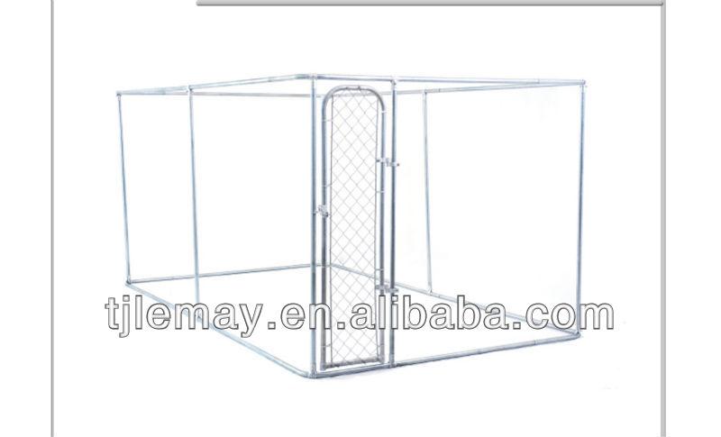 large dog kennel run in home & garden