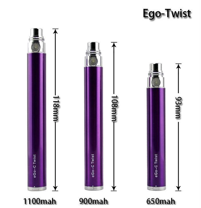 2013 hot sale product ego twist 1300 mah