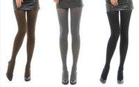 Женские колготки New Women Fashion Sexy Polka Dot Stocking Thinner Pantyhose Leggings Slim 3 Colors Cheap