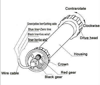 Single Phase Motor Wiring Diagram For Wagner