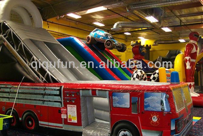 Fire Truck Inflatable Jumper