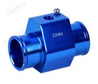 Панельный прибор для мотоциклов Powerful Water Temp Gauge Radiator Sensor Adaptor Attachment Aluminum 32MM Blue 5941