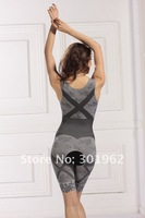 Женское термо-белье 200pcs/lot Brand New Women's Natural Bamboo Charcoal Slimming Body Shaper S-XL