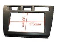 Free shipping-car refitting dvd frame/front bezel/audio panel for Toyota Mark II,2 DIN