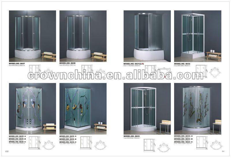 Malerei kristall milchglas sektor einfache duschkabine ( hg - 8634 - b ...