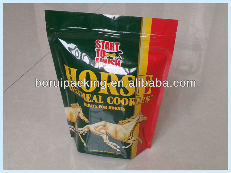 horse food bag with zipper