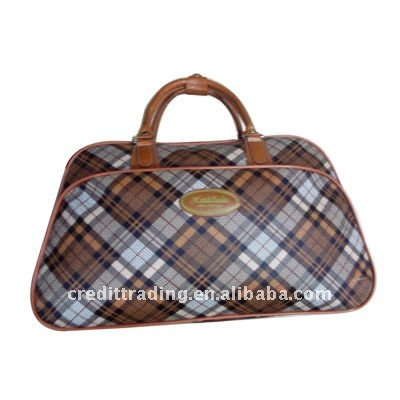 travel bags sports duffel bag with trolley for men