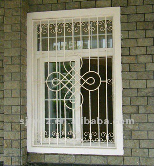 Iron window grill design metal window grills design product on alibaba - 2013 Nova Forjado Amp Janela De Ferro Da Grade De Design