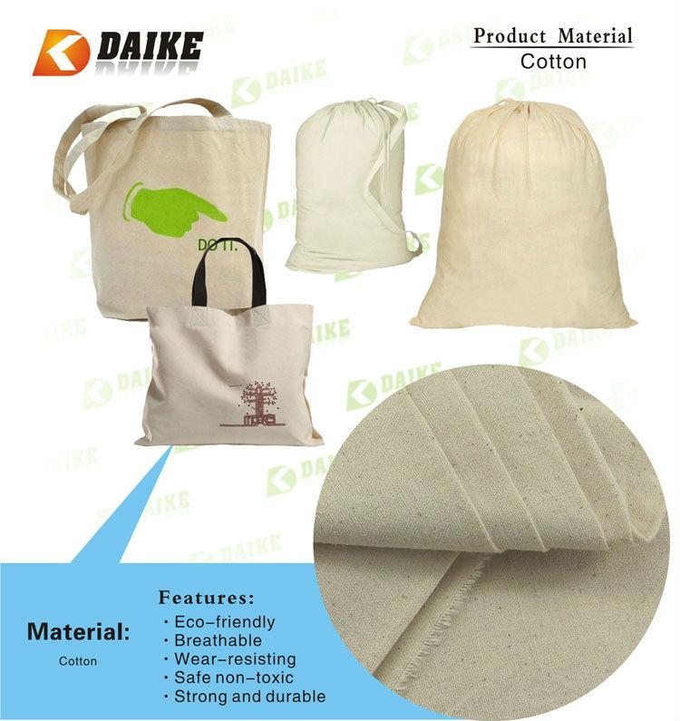 Organic Cotton 2012 Promotional Shopping Bags DK-AN075