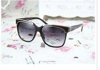 Женские солнцезащитные очки Temperament metal trim sunglasses glasses and sunglasses