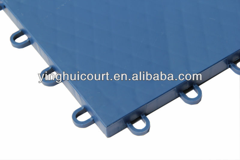I-01 Interlocking Inline Hockey Plastic Flooring Tile Surface
