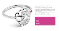 flower diamond ring