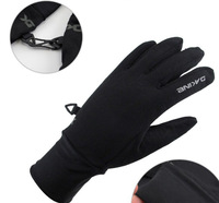 Женские перчатки SNLAK outdoor gloves non-slip thin fleece gloves winter sports glove L