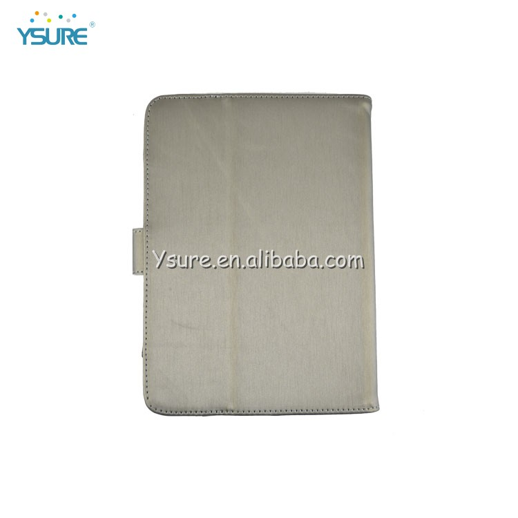 Simple fashion standing pu leather case for ipadmini 2