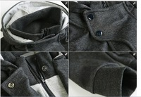 New coats men outwear Mens Special Hoodie Jacket Coat men clothes cardigan style jacket M L XL XXL Free Shipping