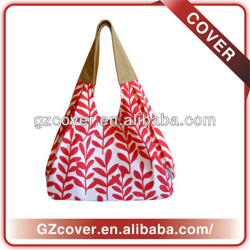 Plain logo printed organic cotton bag wholesale