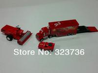 "Игрушечная техника и Автомобили PIXAR Toys CARS 2 ""MACK"" TRUCK AND McQUEEN car models toys"