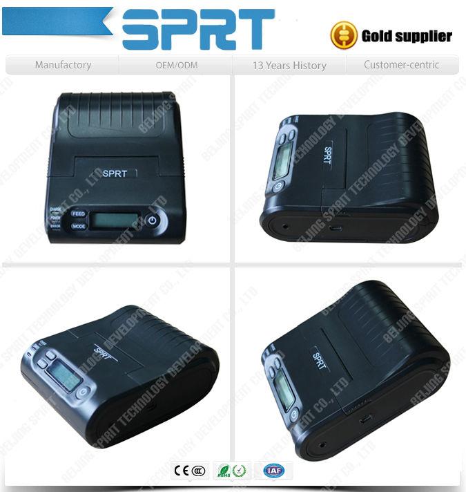 2 inch Battery Power Android Bluetooth wireless portable dot matrix printer