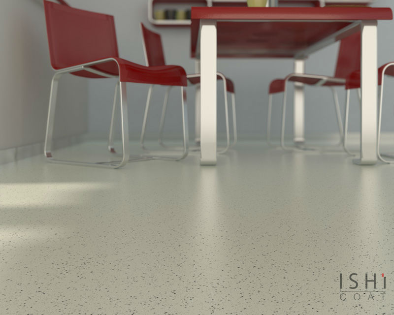 Ishi water based flooring system for interiors
