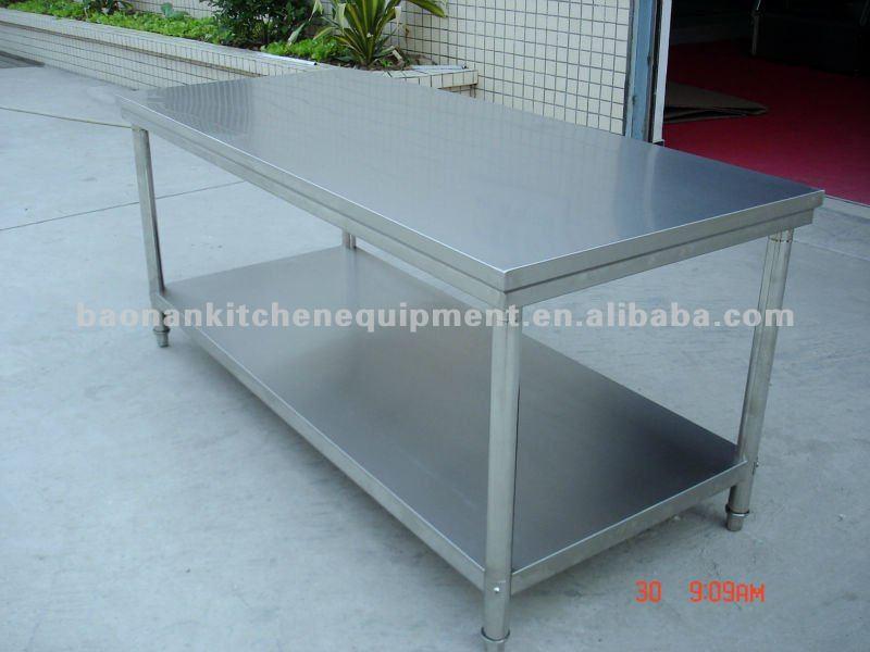 ristorante in acciaio inox tavolo di lavoro-Tavoli di metallo-Id ...