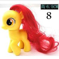 Фигурка героя мультфильма My little pony Loose Action Figures toy 6-8 CM 1pc