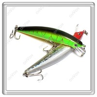 Товары на заказ S5Y 4x 12cm Barbed Fishing Lures Tackle Hooks Sea Minnow Bait Rattling Jerkbaits