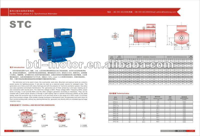 110/220 volt generator/12v alternator generator /12v alternator generator 90a