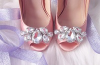 Туфли на высоком каблуке wedding shoes crystal shoes women high heels rhinestone high heel shoes pumps