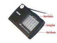 Радио DEGEN 40pcs DE321 FM MW SW DSP A0905A eshow