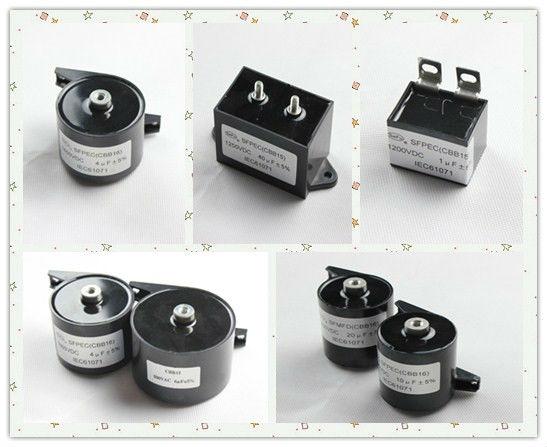 Sale inverter welding Screw rod type of top quality 40UF 1250VDC capacitor