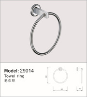 Кольцо-Держатель для полотенца Towel Ring, Towel Holder, Solid Brass made, Polished Chrome finish, Bathroom Accessories